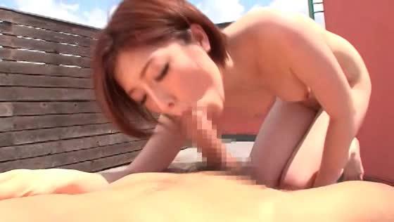(オネエさん・モデル)羽田あい-青空の下、清楚なモデルオネエさんと裸外露出sex